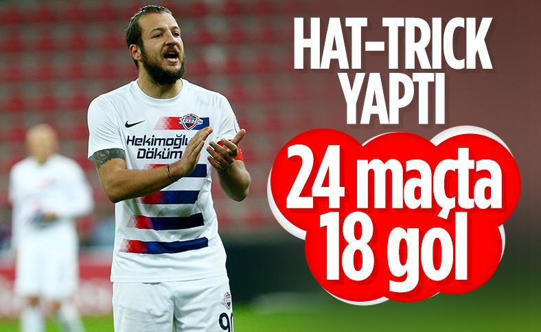 Batuhan Karadeniz hat-trick yaptı Hekimoğlu Trabzon kazandı