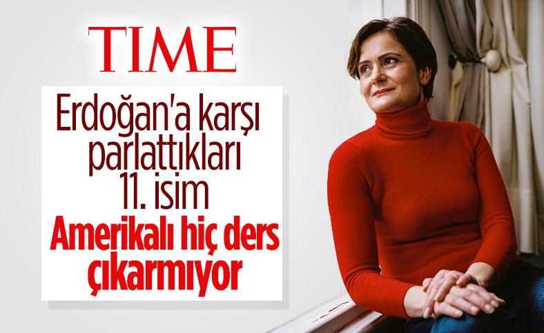 Time dergisi, Canan Kaftancıoğlu'nu yazdı
