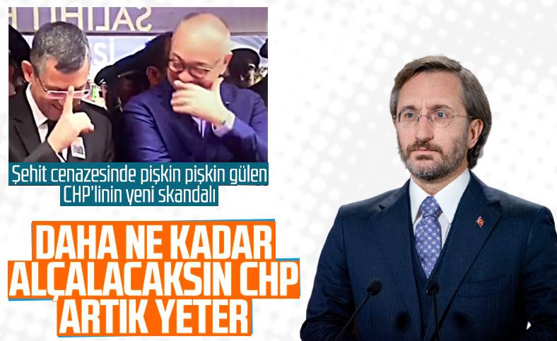 Fahrettin Altun'dan Özgür Özel'e sert tepki