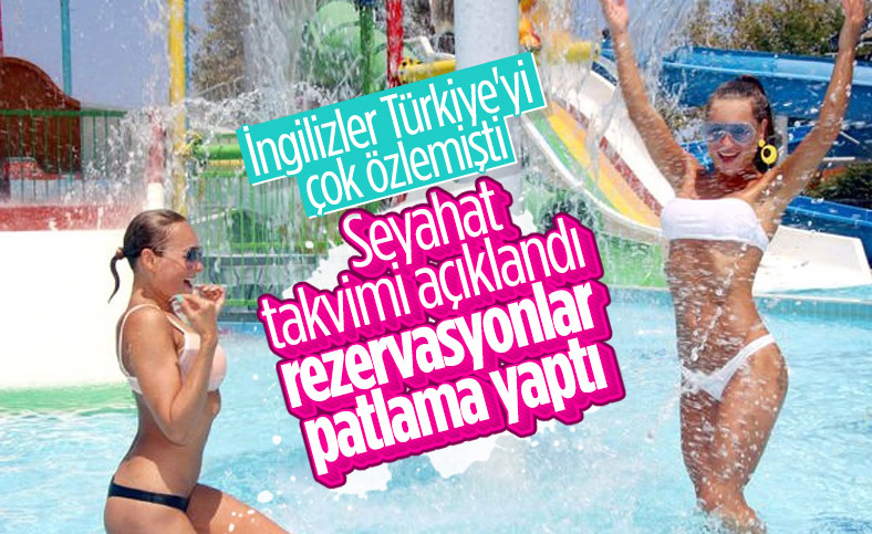 İngilizlerin erken rezervasyonda tercihi Türkiye