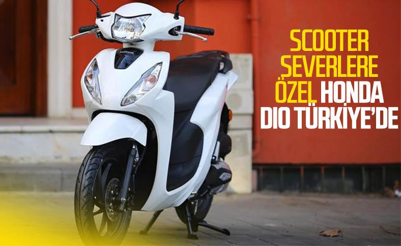 Yeni Honda Dio Türkiye yollarına çıkıyor: İşte fiyatı