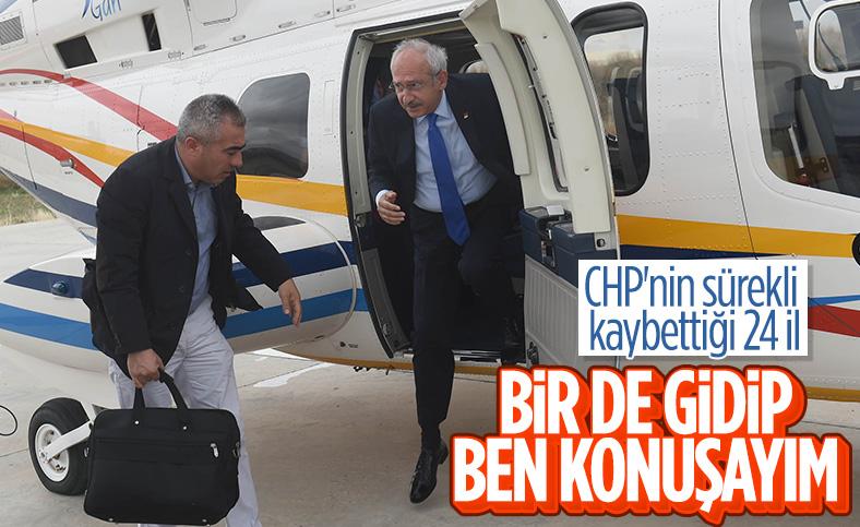 Kemal Kılıçdaroğlu, az oy aldığı 24 ile ziyaret gerçekleştirecek