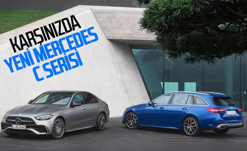 Mercedes-Benz C Serisi, yenilenen yüzüyle tanıtıldı