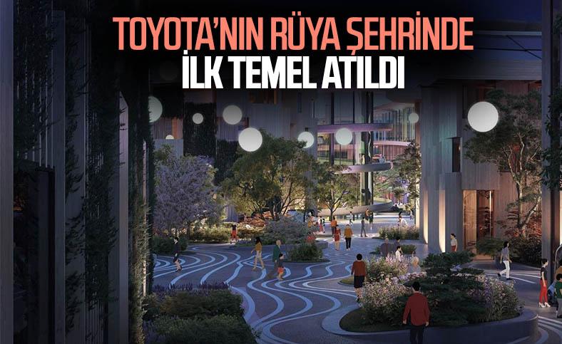 Toyota'dan teknoloji bazlı şehir: Woven City
