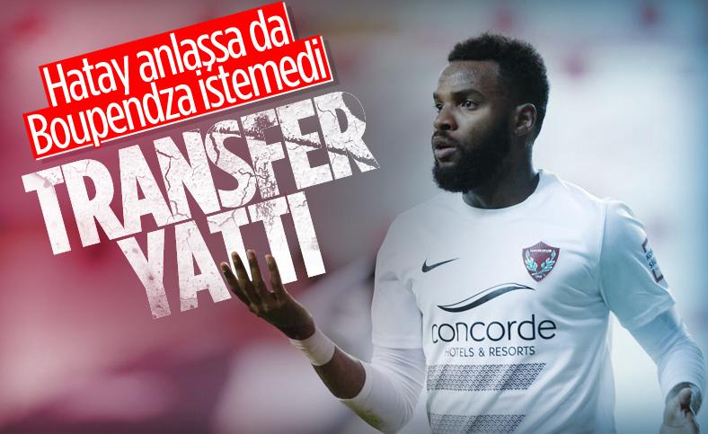 Boupendza'nın Krasnodar'a transferi gerçekleşmedi