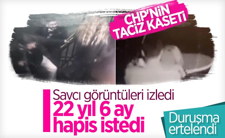 CHP'li ilçe yöneticisi için cinsel saldırı suçundan 22 yıl hapis istemi