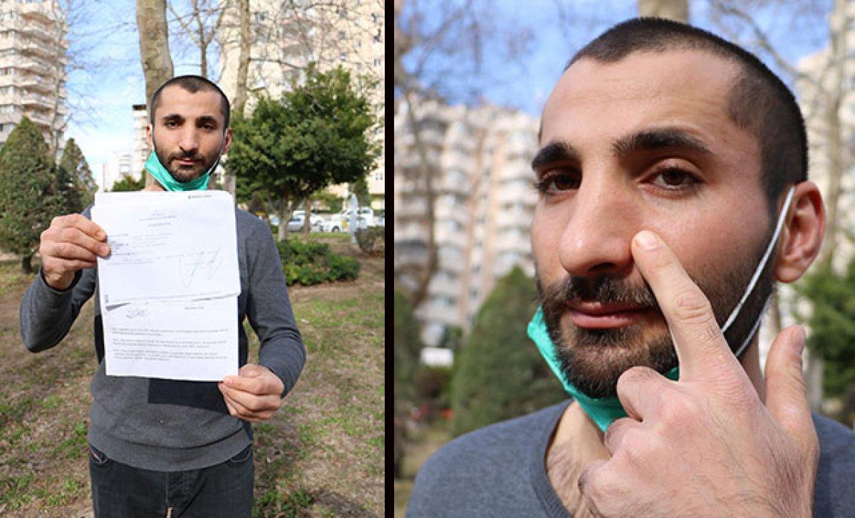 Antalya'da darbedilen moto kuryeye para cezası: Keşke yediğim dayakla kalsaydım