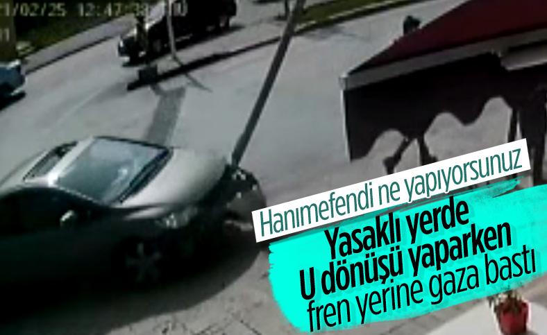 Denizli'de kadın sürücü, fren yerine gaza bastı: 3 yayayı ezdi