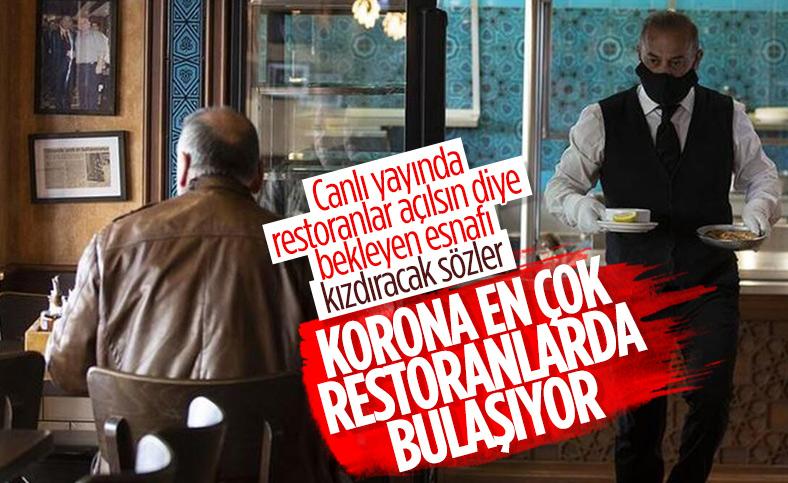 Koronavirüsün en fazla bulaştığı yer: Tam zamanlı çalışan restoranlar