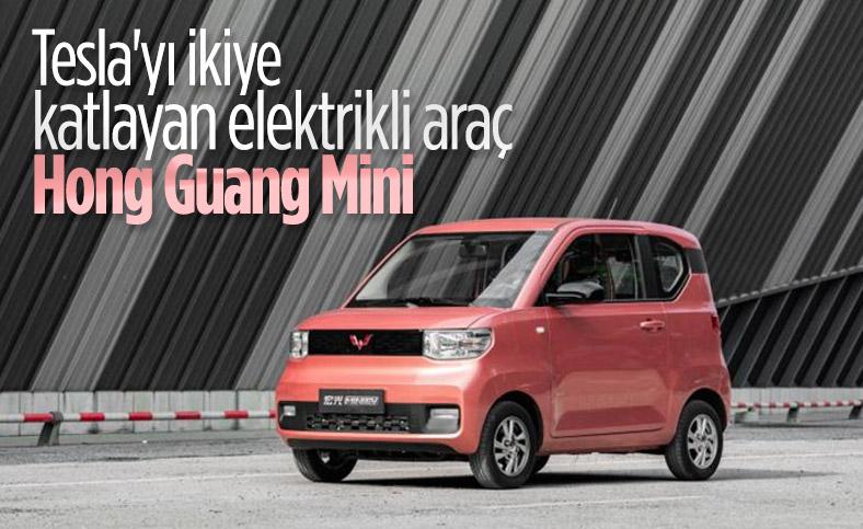 Satışlarda Tesla'yı ikiye katlayan elektrikli araç: Hong Guang Mini