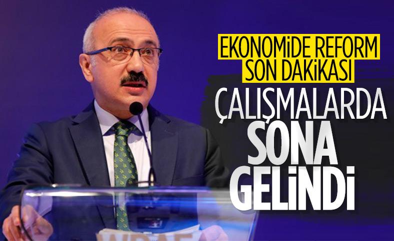 Hazine ve Maliye Bakanı Lütfi Elvan: 2021 yılı reformlar yılı olacak