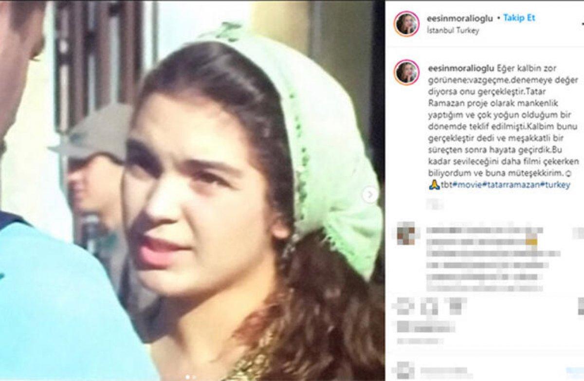 Esin Moralıoğlu ndan Tatar Ramazan itirafı #1