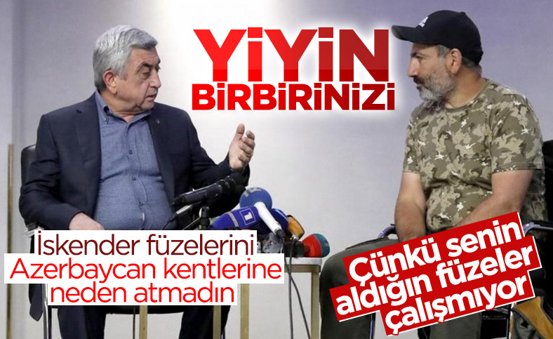 Ermenistan'da Sarkisyan ile Paşinyan arasında Rus İskender füzesi tartışması
