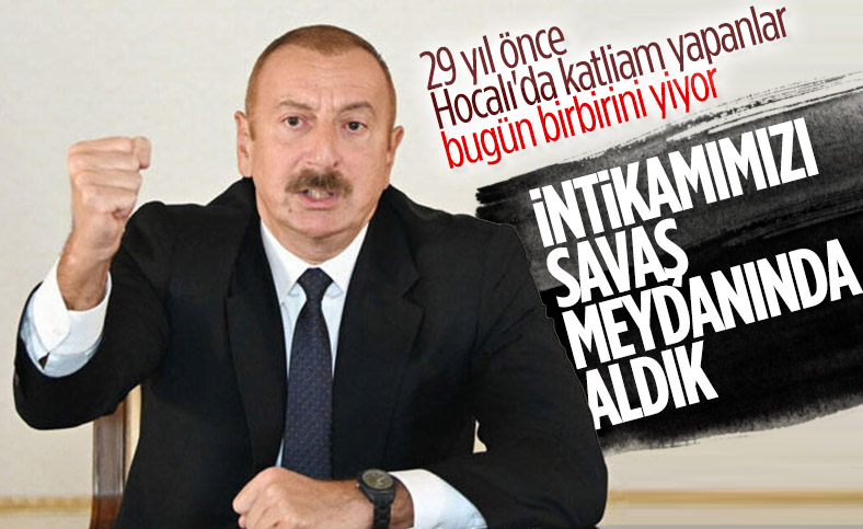 İlham Aliyev: Ermenistan bizi dinleseydi böyle rezil bir duruma düşmezdi