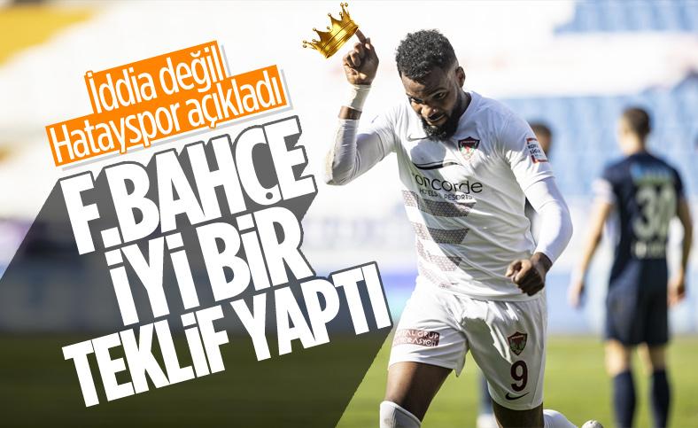 Hatayspor basın sözcüsü: Fenerbahçe, Boupendza'yı istiyor