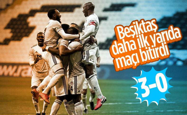 Beşiktaş, Denizlispor'u 3 golle geçti