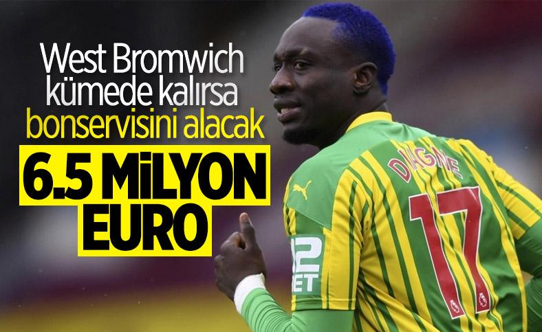 West Bromwich'in Mbaye Diagne kararı