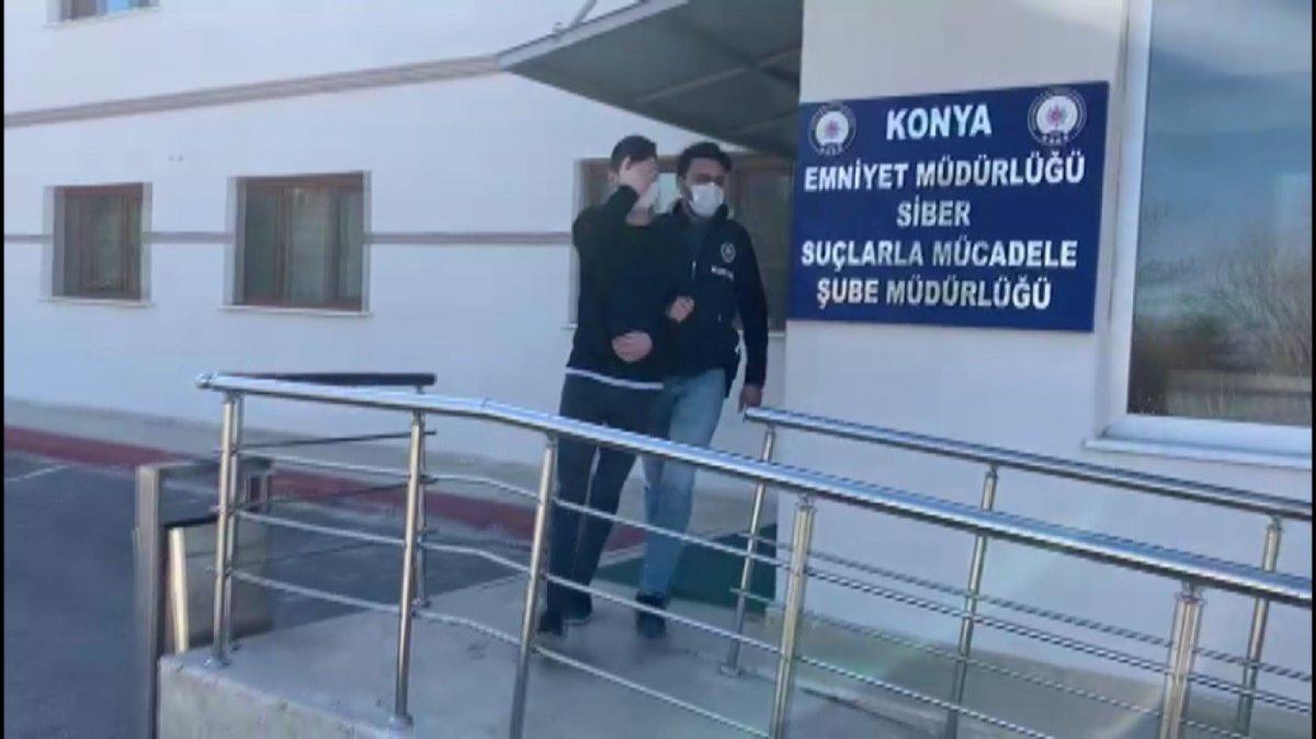 Konya'da yasa dışı bahis oynatan 4 şüpheli gözaltına alındı