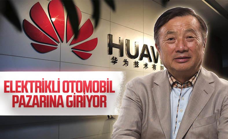 Huawei, elektrikli otomobil üretmek için görüşmelere başladı