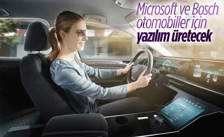 Microsoft ve Bosch, otomobil yazılımları için anlaştı