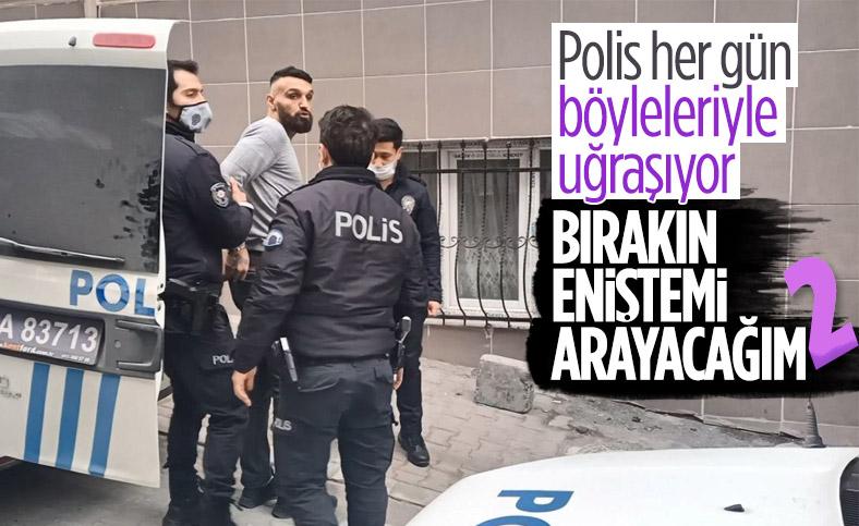 İstanbul'da yakalanan şüpheli eniştesini aramak istedi