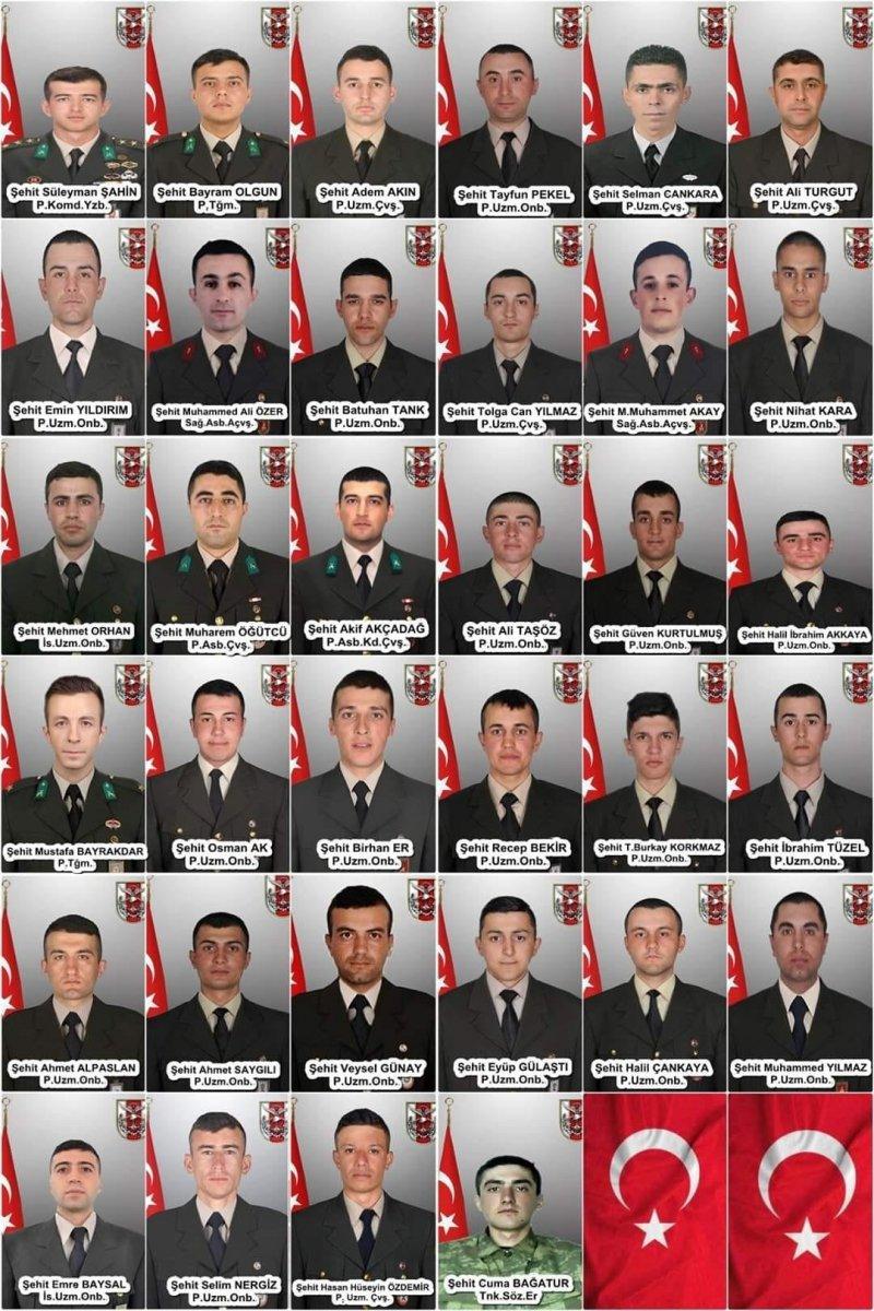 İdlib de 36 askerimizin şehit olmasının üzerinden 1 yıl geçti #1