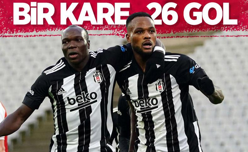 Aboubakar ve Larin toplamda 26 gol attı