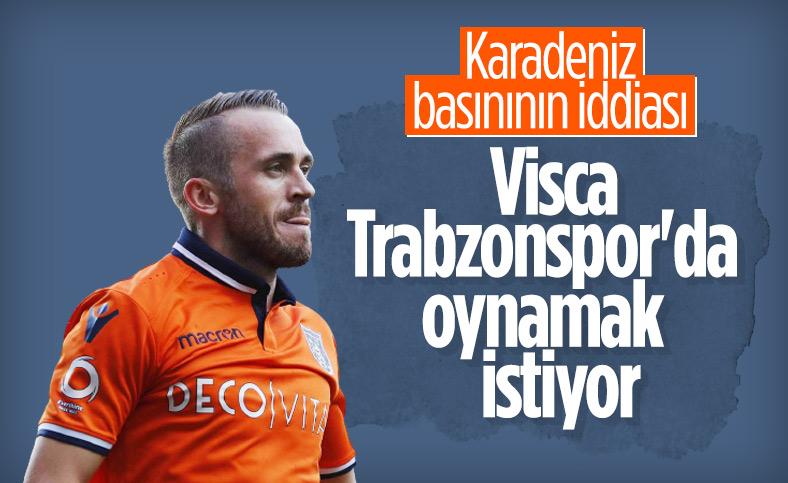 Karadeniz basını: Visca, Trabzonspor'da oynamak istiyor