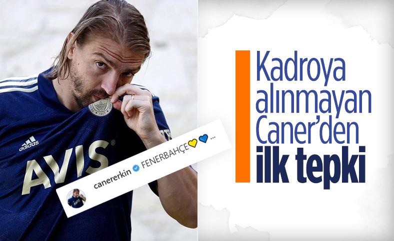 Trabzonspor maçı kadrosuna alınmayan Caner Erkin'den ilk tepki