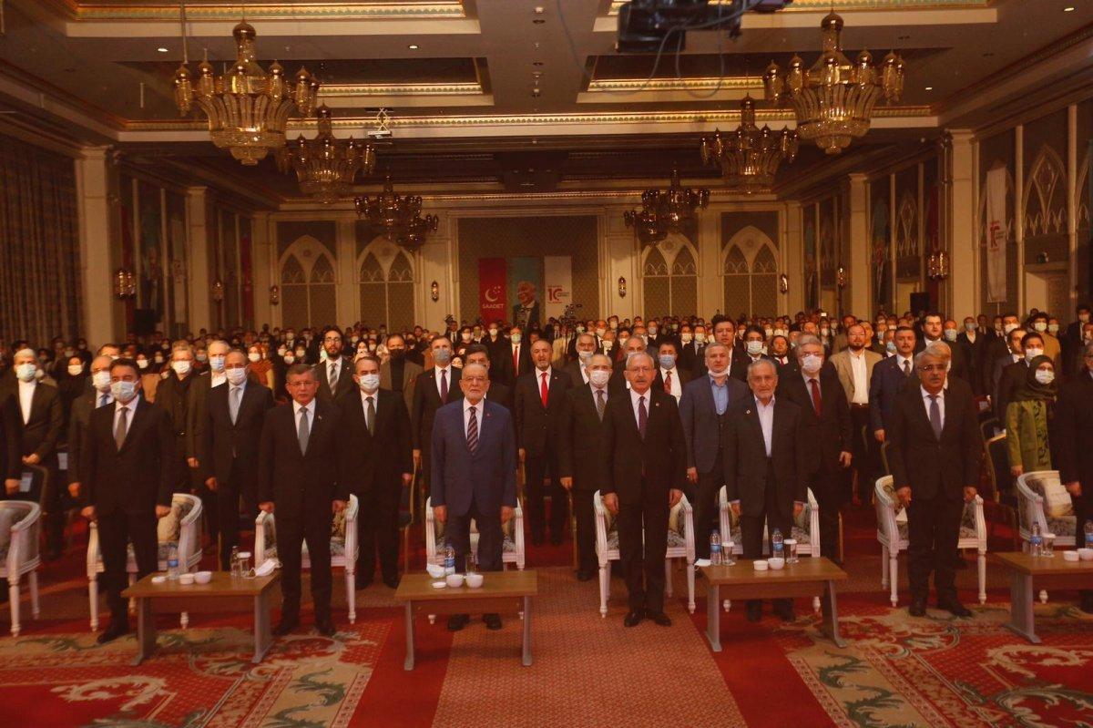 Siyasetçiler Erbakan ı anma programında bir araya geldi  #7