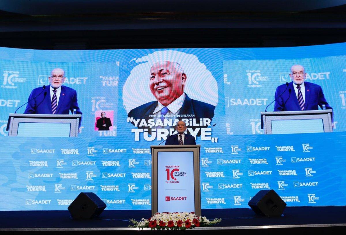 Siyasetçiler Erbakan ı anma programında bir araya geldi  #3