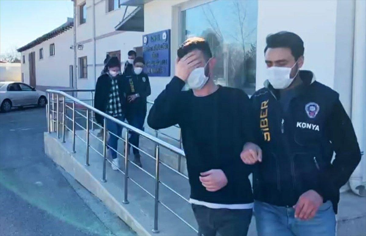 Konya da  Beni alamazlar  diyen yasa dışı bahis şüphelisi tutuklandı #3