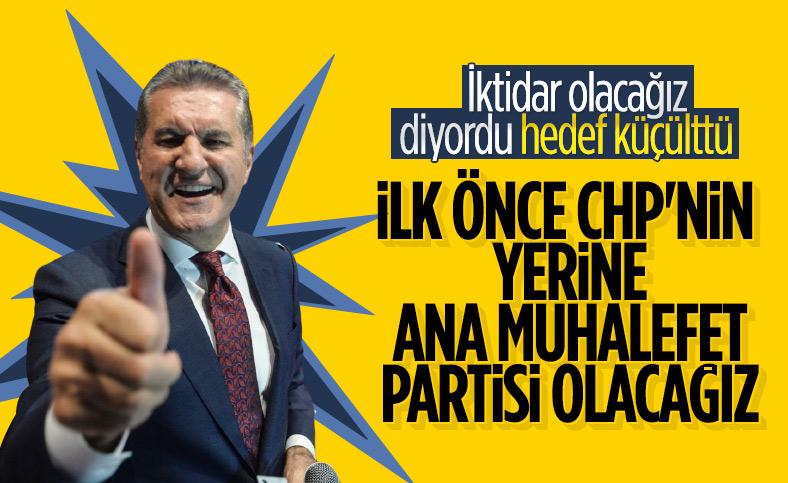 Mustafa Sarıgül'ün hedefinde CHP var