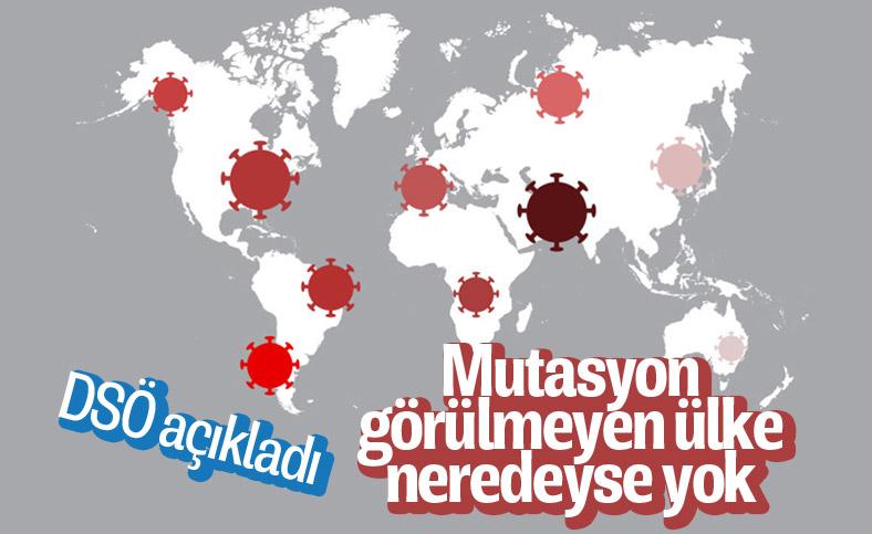 DSÖ Türkiye Temsilcisi, koronavirüste mutasyon görülen ülke sayısını verdi