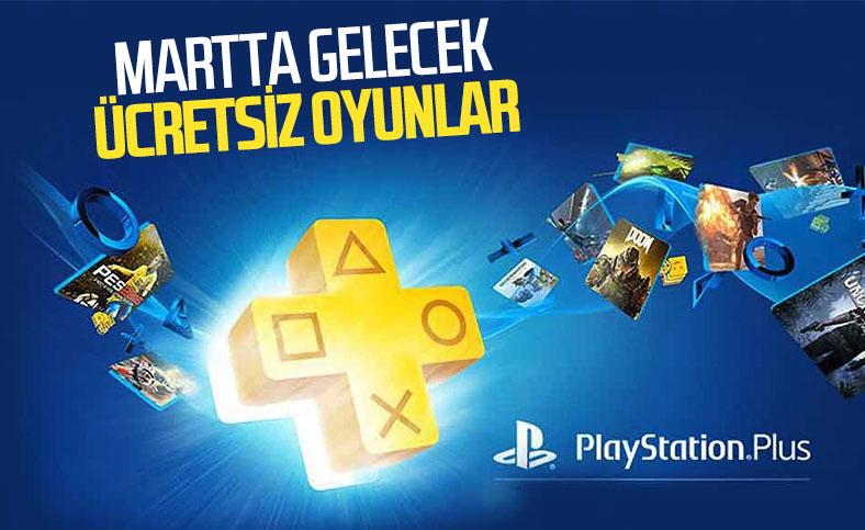 PlayStation Plus abonelerine martta ücretsiz sunulacak oyunlar