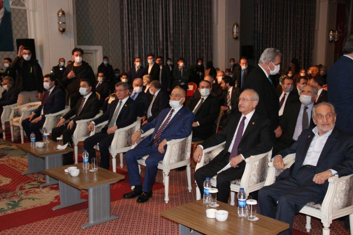 Siyasetçiler Erbakan ı anma programında bir araya geldi  #5