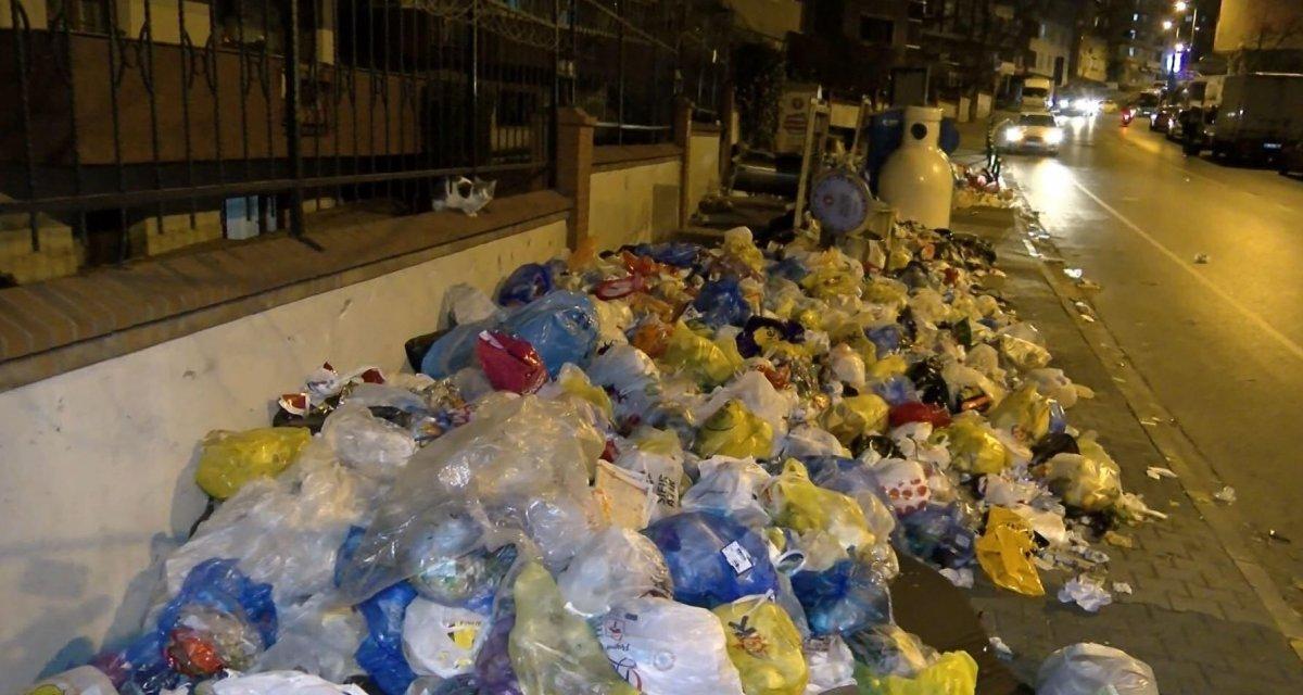 Maltepe Belediye Başkanı Ali Kılıç, çöplerin yanında açıklama yaptı #2