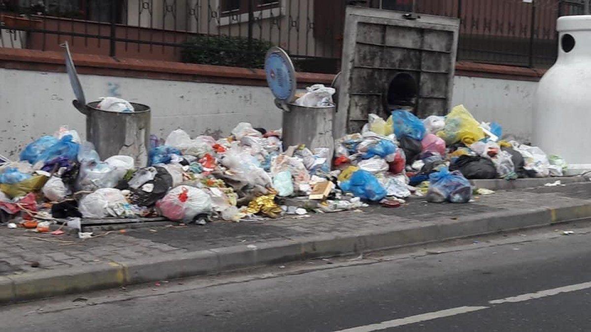 Maltepe Belediye Başkanı Ali Kılıç, çöplerin yanında açıklama yaptı #1