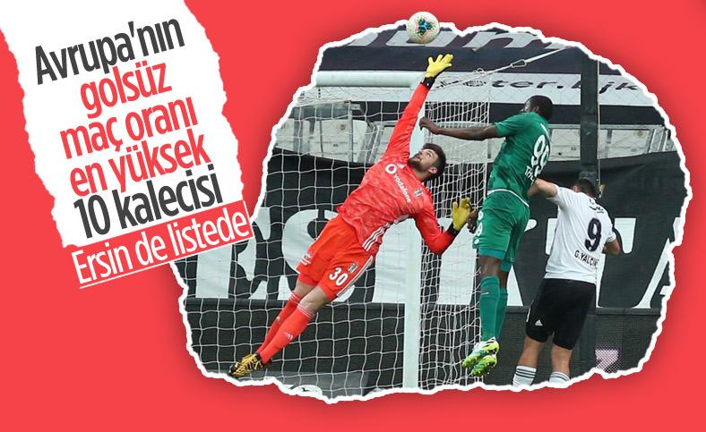 Ersin Destanoğlu, 10 maçta gol yemedi