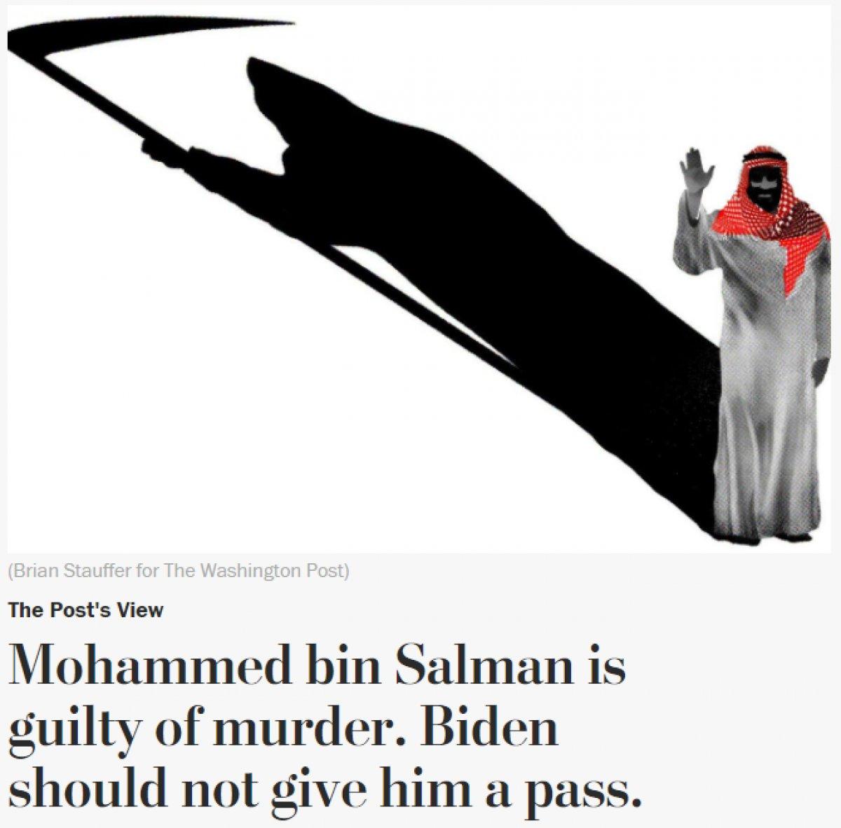 Washington Post: Suudi Veliaht Prens Selman cezasız kalmamalı #1