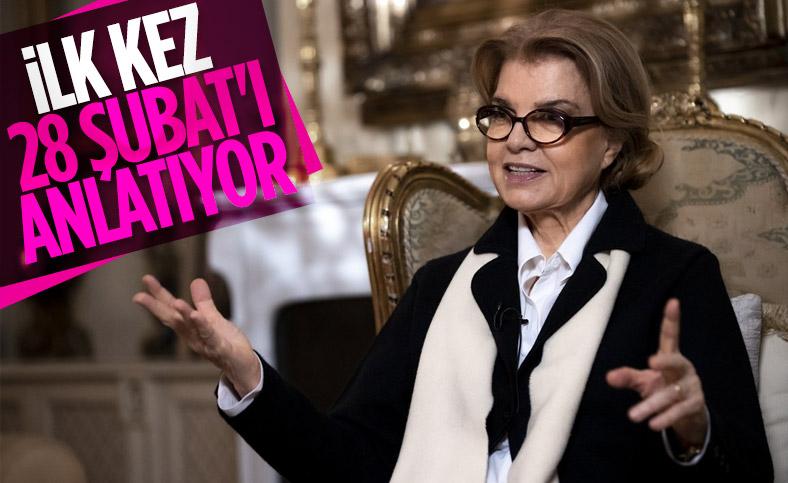Tansu Çiller, 28 Şubat sürecini anlattı