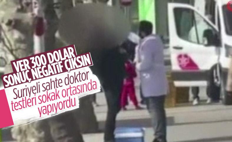 İstanbul'da para karşılığı sahte koronavirüs test sonucu sattılar
