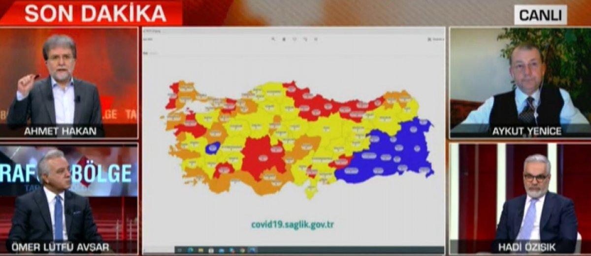 Ahmet Hakan, harita üzerinde yeni kararları anlattı #2