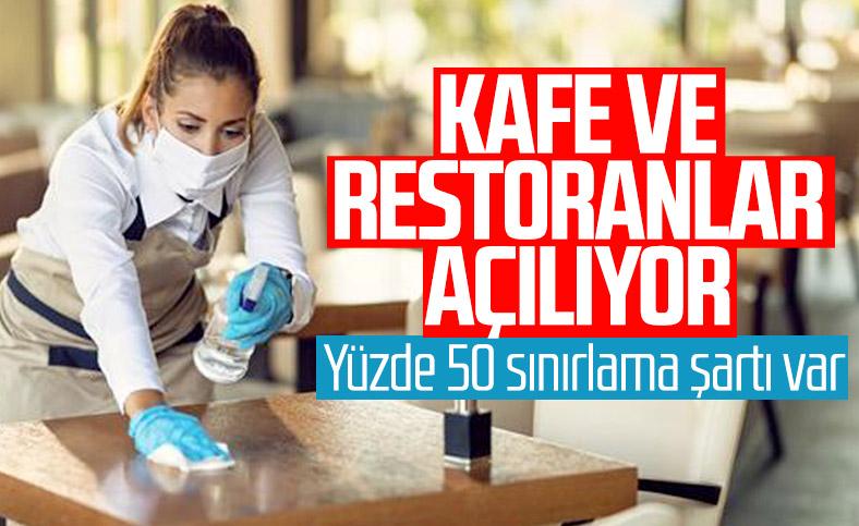 Cumhurbaşkanı Erdoğan: Kafe ve restoranlar çok riskli iller dışında açılacak