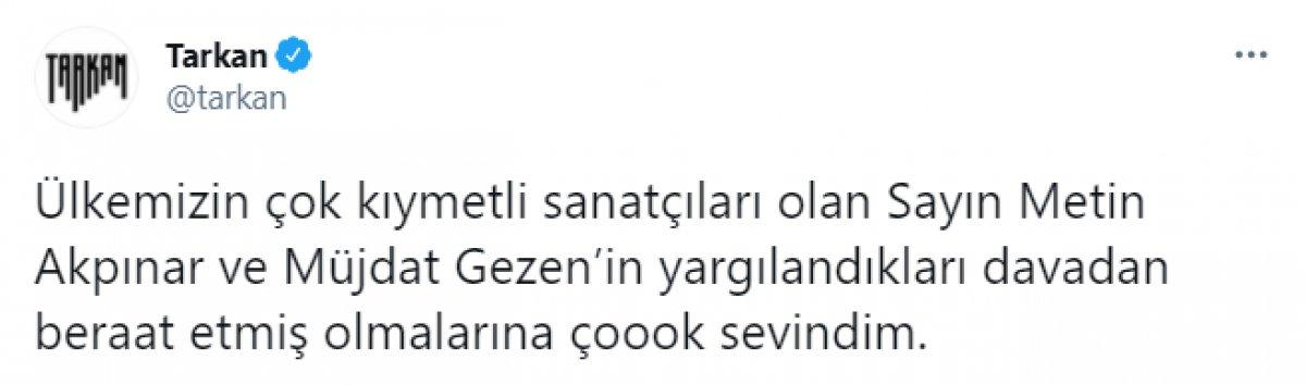Müjdat Gezen ve Metin Akpınar, Cumhurbaşkanı na hakaret davasından beraat etti #3