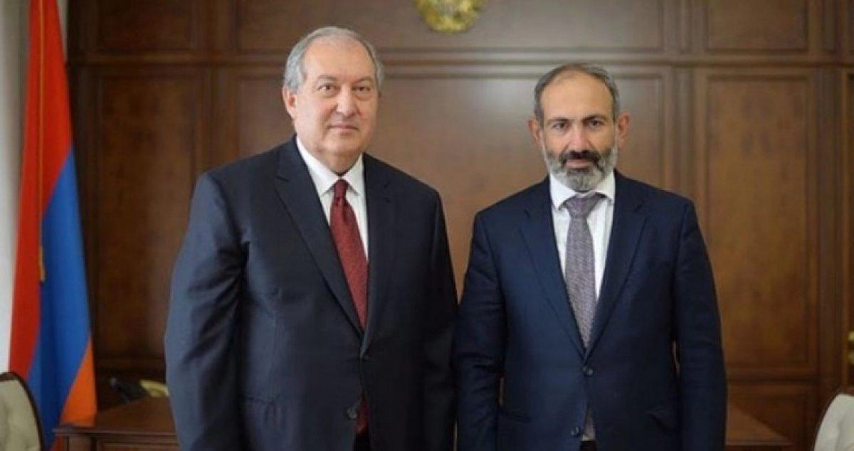 Ermenistan Cumhurbaşkanı Sarkisyan'dan Paşinyan'a ikinci kez ret #2