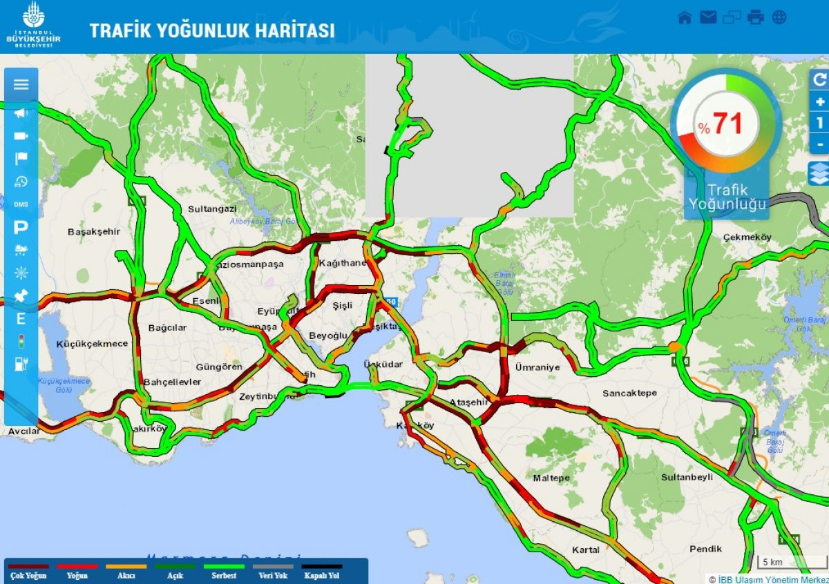 İstanbul da yoğun trafik #3