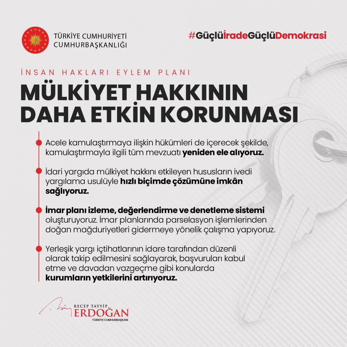 Erdoğan, İnsan Hakları Eylem Planı'nın 11 ilkesini açıkladı #7
