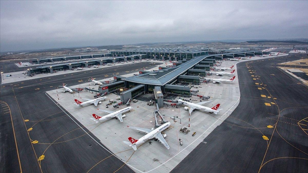 İstanbul Havalimanı günde 501 uçuşla Avrupa da liderliğe yükseldi #2