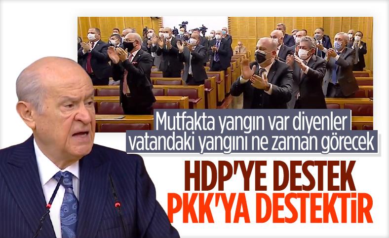 Devlet Bahçeli'den HDP kapatılsın çağrısı